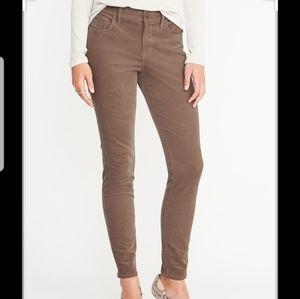 [Old Navy] Brown Corduroy Skinny Pants